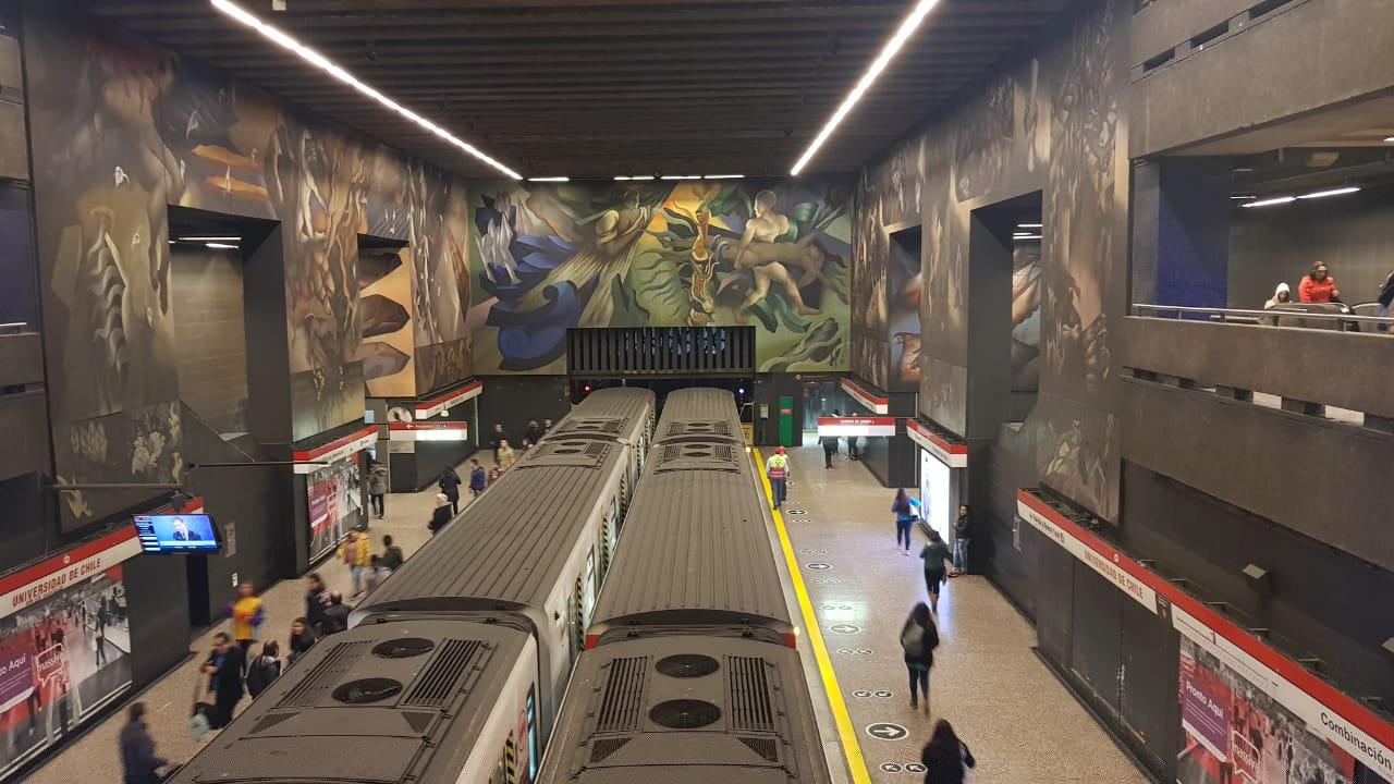 Metrô de Santiago do Chile