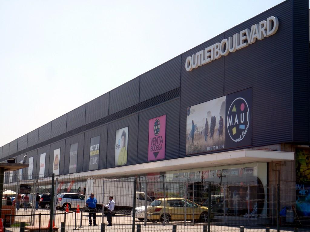 Outlet boulevard compras no Chile